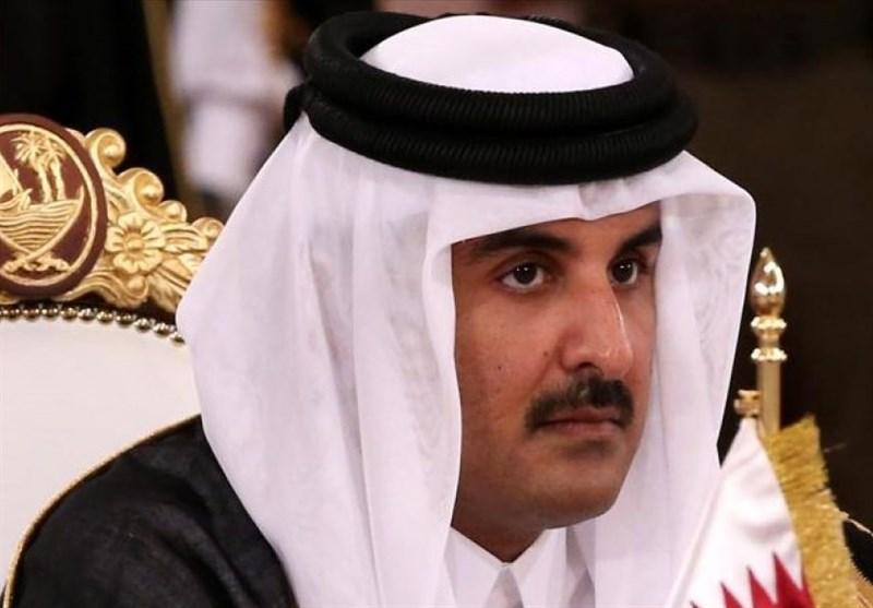 امیر قطر بر مخالفت با سیاست محاصره تأکید کرد