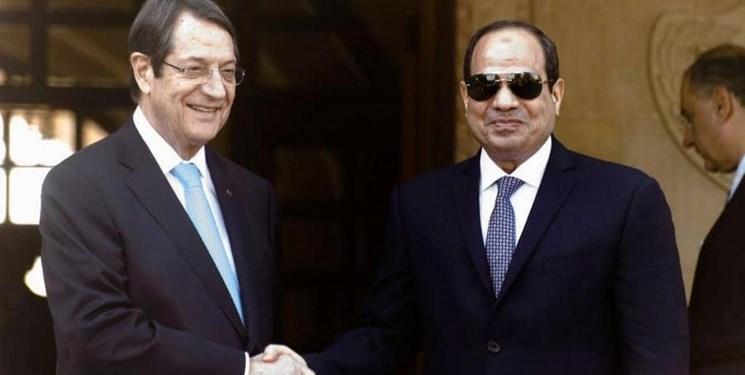 تأکید قبرس و مصر بر مقابله با ترکیه در مدیترانه