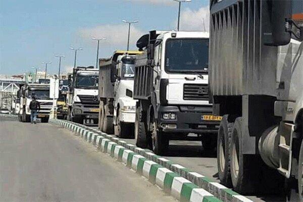 جریمه 90 هزار تومانی تردد کامیون ها کافی نیست ، پیمانکاران جریمه را پرداخت می نمایند