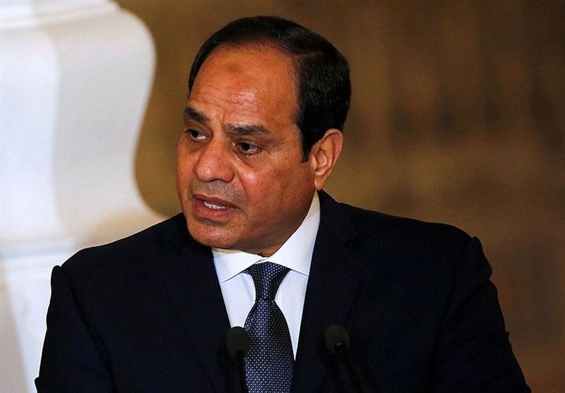 السیسی: مصر برای حل سیاسی بحران لیبی کوشش می نماید