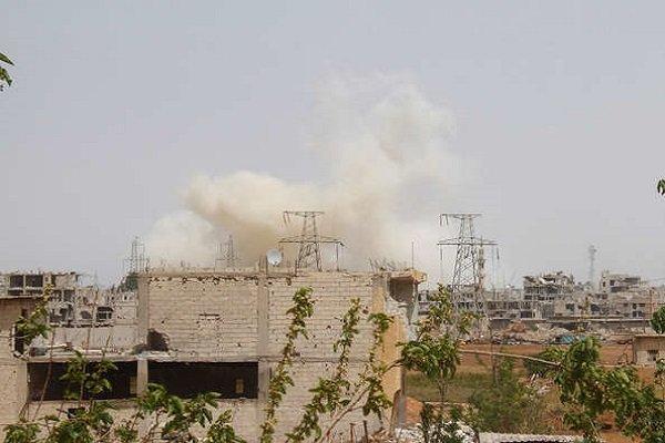 نظامیان ترکیه مناطق تحت کنترل قسد را بمباران می کنند