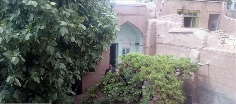 تخریب بخشی از خانه مرحوم استاد حمید سبزواری