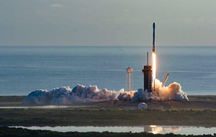 اسپیس ایکس ششمین مجموعه از ماهواره های استارلینک را به فضا فرستاد