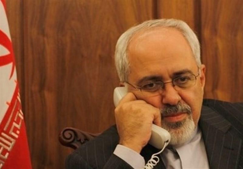 گفتگوی تلفنی ظریف و وزیر خارجه کنیا