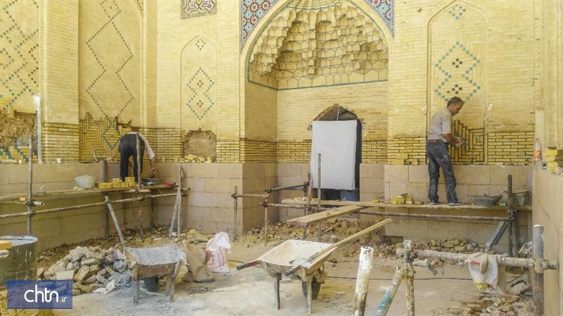 اتمام عملیات 8 پروژه مرمتی تاریخی فارس در سال 98