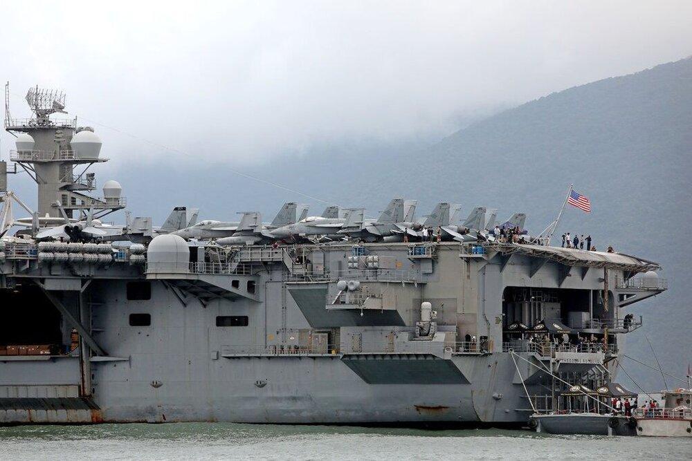 ناو آمریکایی با 4 هزار خدمه کرونایی شد، درخواست کمک فوری از پنتاگون