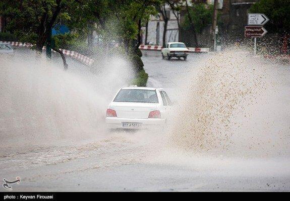 بارش تگرگ و یخبندان کردستان را فرا می گیرد