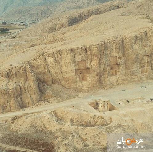 20 کتیبه جدید در نقش رستم کشف شد، شباهت های سنگ گور های ساسانیان با امروزی ها