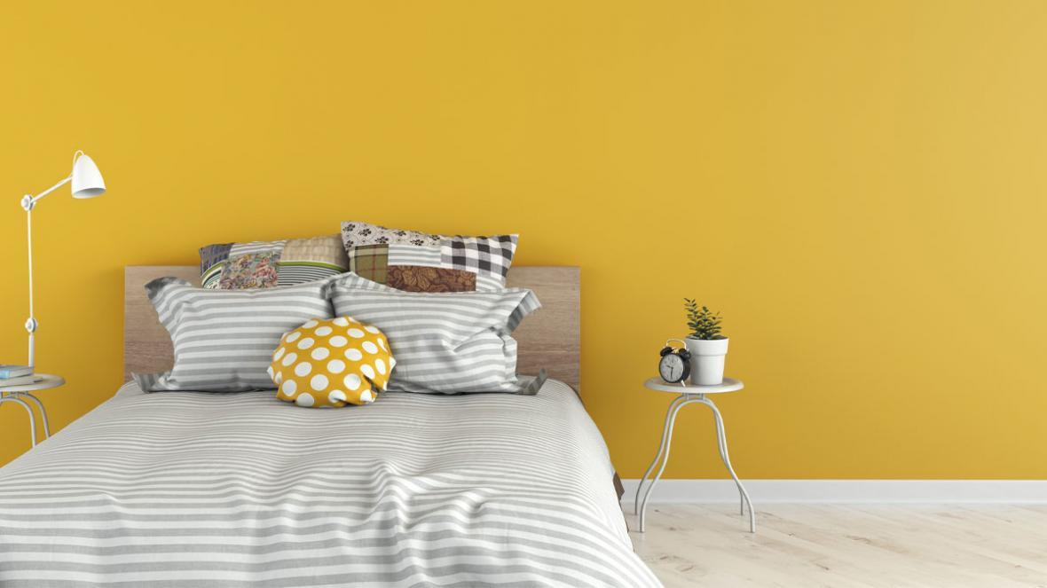 مکمل رنگ زرد در دکوراسیون با ویژگی های روانشناسی