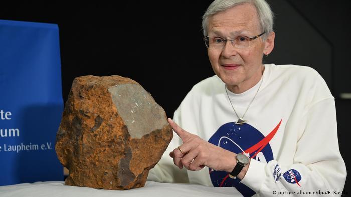 کشف سنگین ترین شهاب سنگ در آلمان