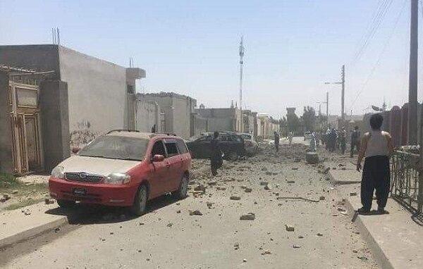 خبرنگاران انفجارهای مزارشریف یک کشته و 9 زخمی به جای گذاشت