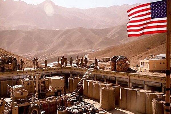 نظامیان آمریکایی از پایگاه التاجی می فرایند