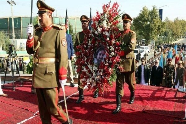 مراسم نوزدهمین سالگرد شهادت احمد شاه مسعود در کابل برگزار گردید