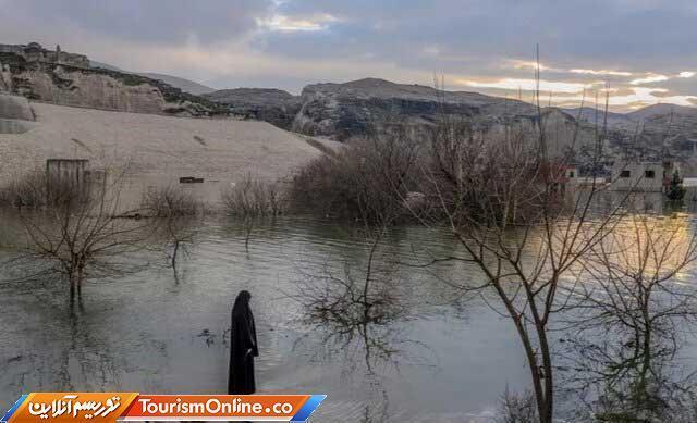 شهر 12هزارساله ترکیه زیر آب رفت