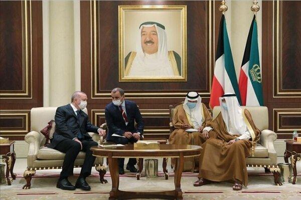 سفر اردوغان به کویت