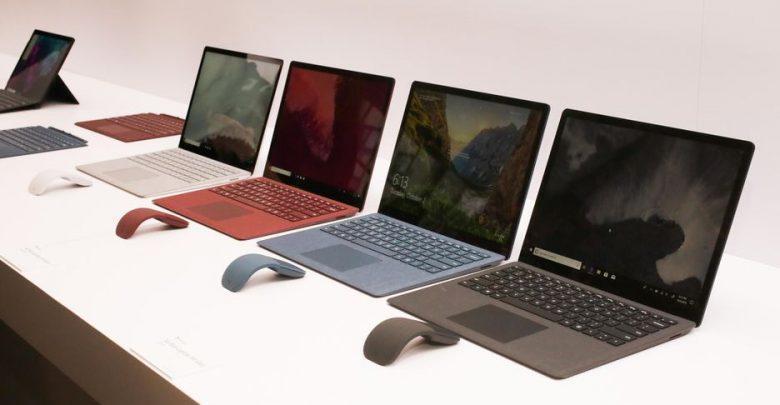 قیمت انواع لپ تاپ، امروز 14 مهر 99
