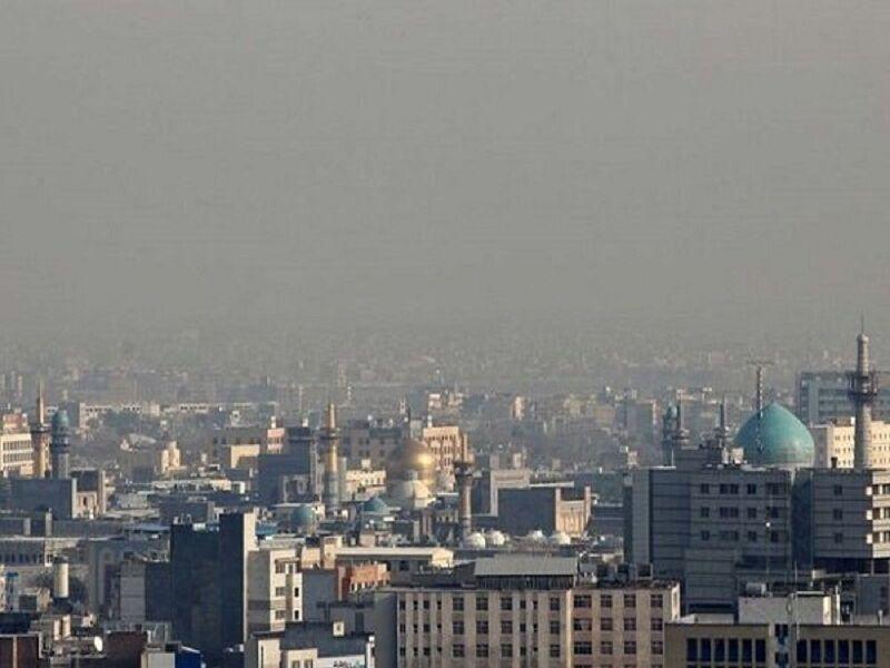 خبرنگاران کیفیت هوای مشهد در آستانه هشدار است