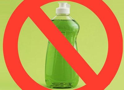 برای شستشوی این موارد از مایع ظرفشویی استفاده نکنید