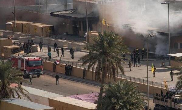 حملات به منطقه سبز بغداد؛ سناریوی آمریکا برای ضربه به حشدالشعبی