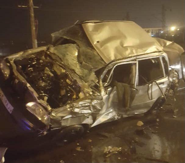 تصادف در البرز یک کشته و پنج مصدوم داشت