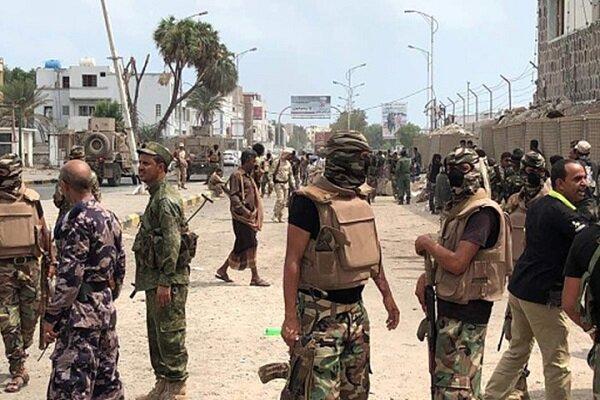 درگیری ها میان مزدوران عربستان و امارات در یمن شدت گرفت
