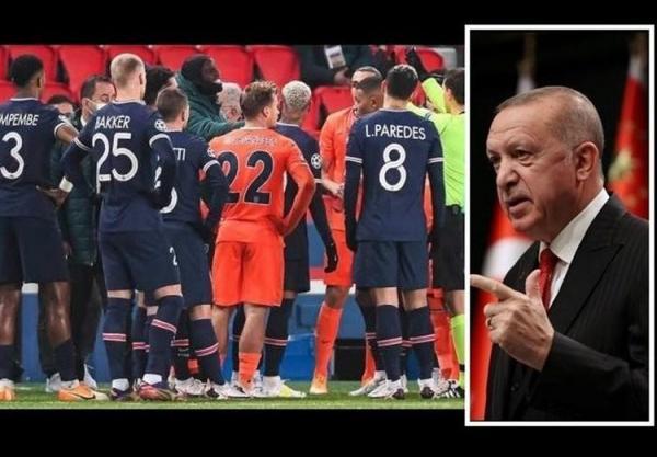 دخالت اردوغان در ملاقات جنجالی لیگ قهرمانان اروپا