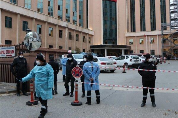 انفجار و آتش سوزی در بیمارستان غازی انتب ترکیه، 8 بیمار جان باختند