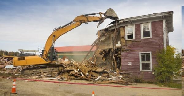 نحوه تخریب خانه برای بازسازی