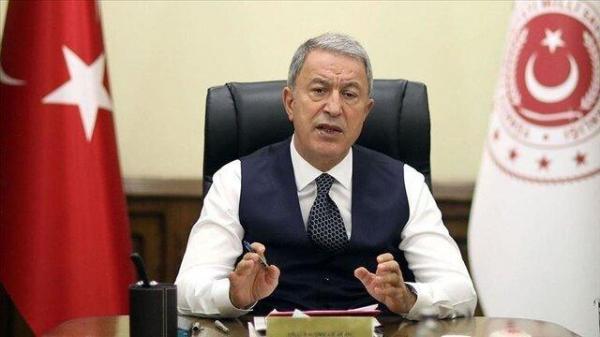 انتظار وزیر دفاع ترکیه از آمریکا برای تجدید نظر در تصمیم اشتباهش