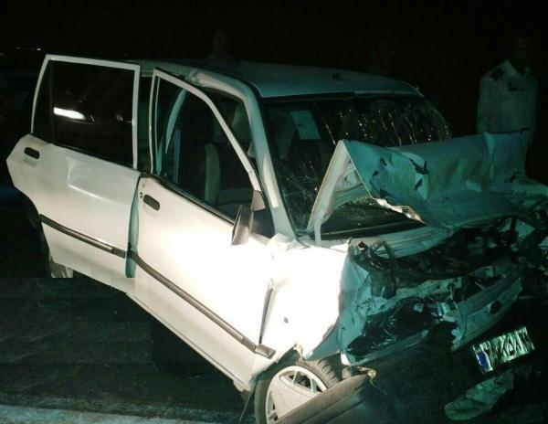 واژگونی پراید در جاده حمیدیه پنج مصدوم برجا گذاشت