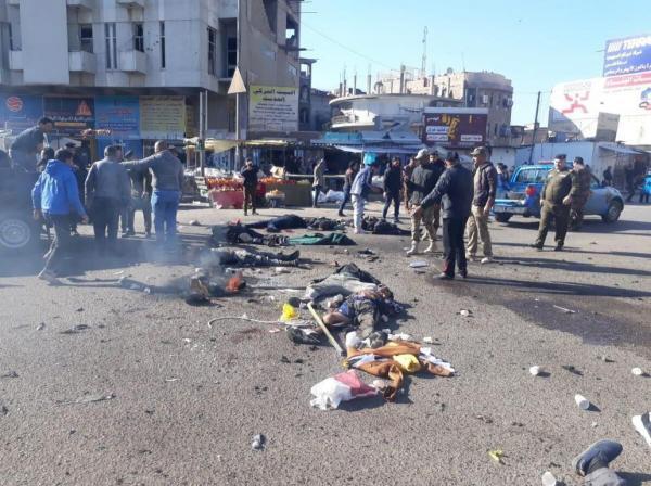 بیش از 30 کشته و زخمی در انفجارهای امروز بغداد