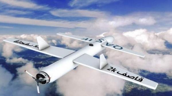 حمله ارتش یمن به پایگاه هوایی ملک خالد در جنوب عربستان