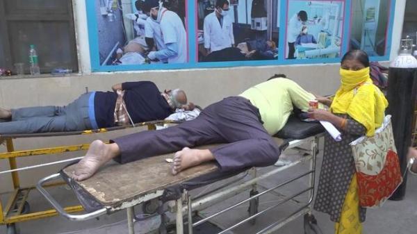 نظام سلامت هند در حال فروپاشی، 346786 مبتلا و 2624 فوتی کرونا در 24 ساعت (