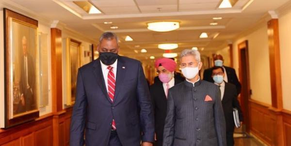 رایزنی ضد چین، محور دیدارهای مقام هندی با وزرای دفاع و خارجه آمریکا