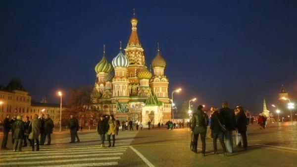 کلیسای سنت باسیل در میدان سرخ مسکو