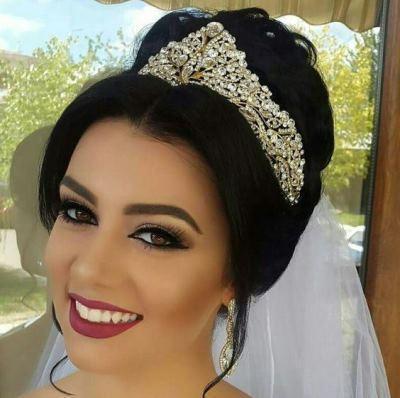انواع تاج عروس فرحی، ژله ای، گل طبیعی و ریسه ای