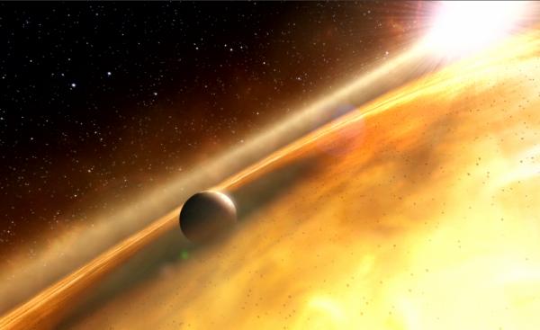 سیاره پشمکی از کجا آمده است؟
