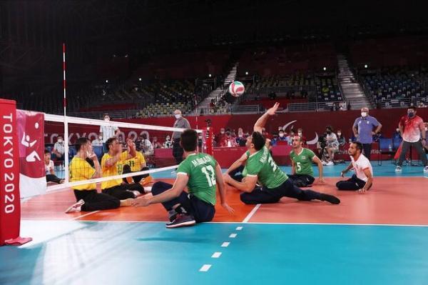 تیم ملی والیبال نشسته به مرحله نیمه نهایی صعود کرد